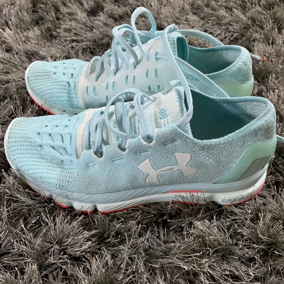 Under Armour Charged Light Green Shoes